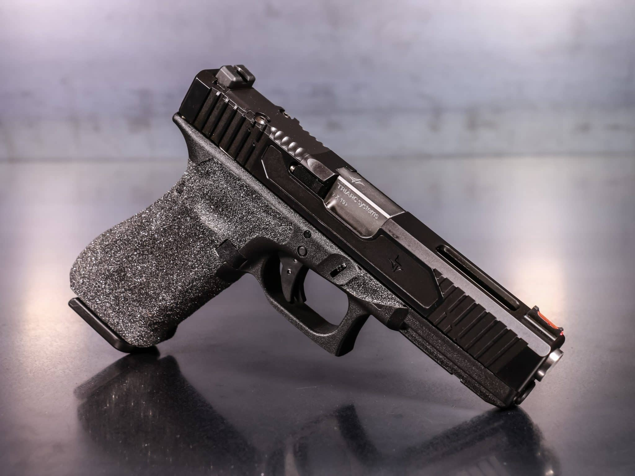 TRIARC Glock 17 Gen 3 V2 RMR Cut - Black Nitride Executive